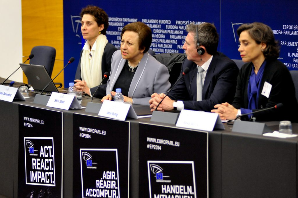 EFD Hosts Nobel Laureate and Iranian Human Rights Activist Shirin Ebadi