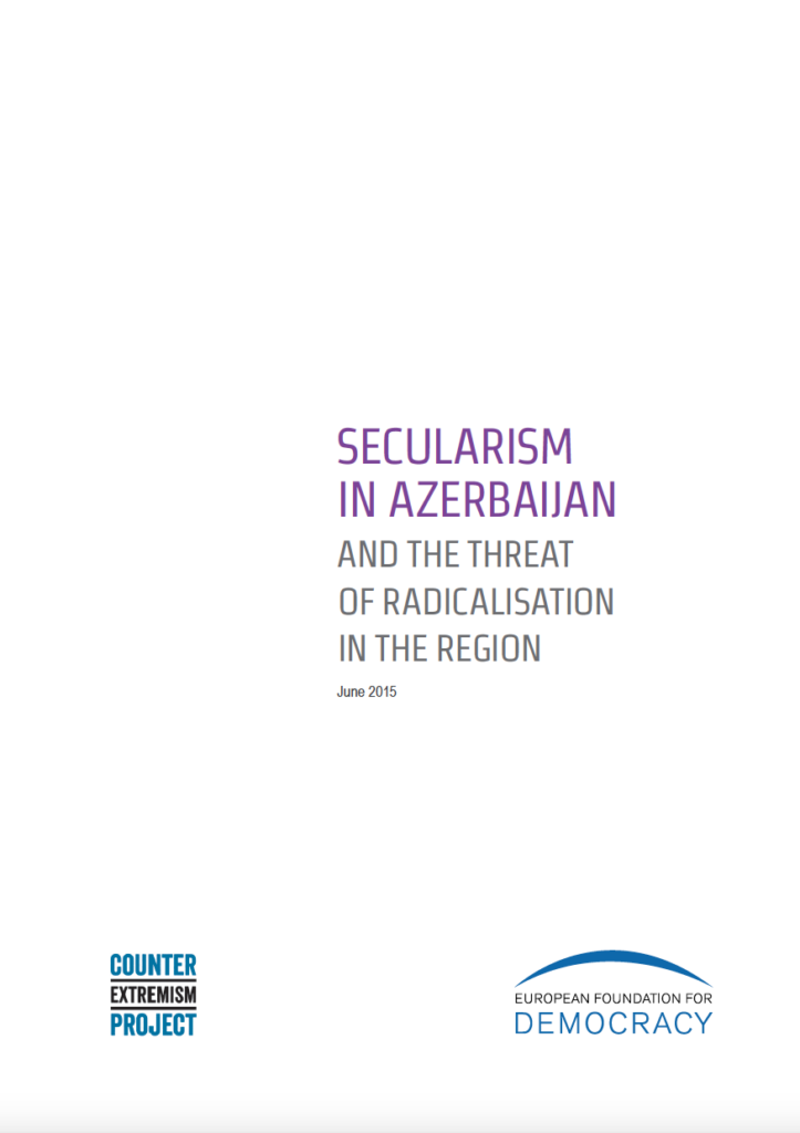 Secularism in Azerbaijan and the threat of radicalisation in the region