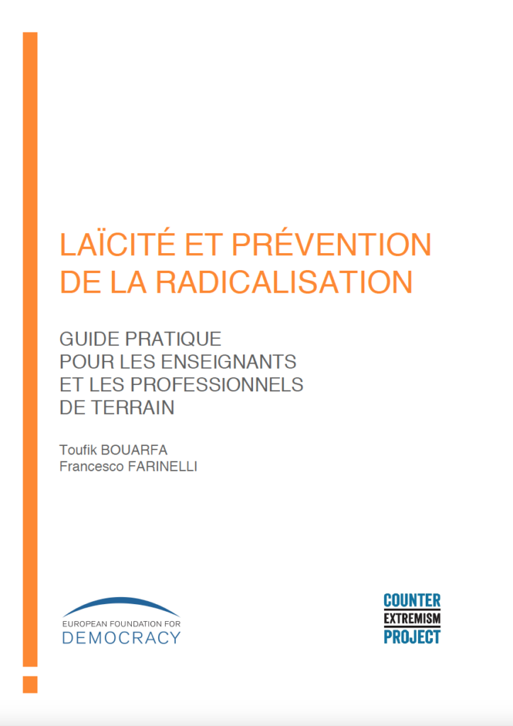FRANCE: Practical guide for teachers and first-line practitioners