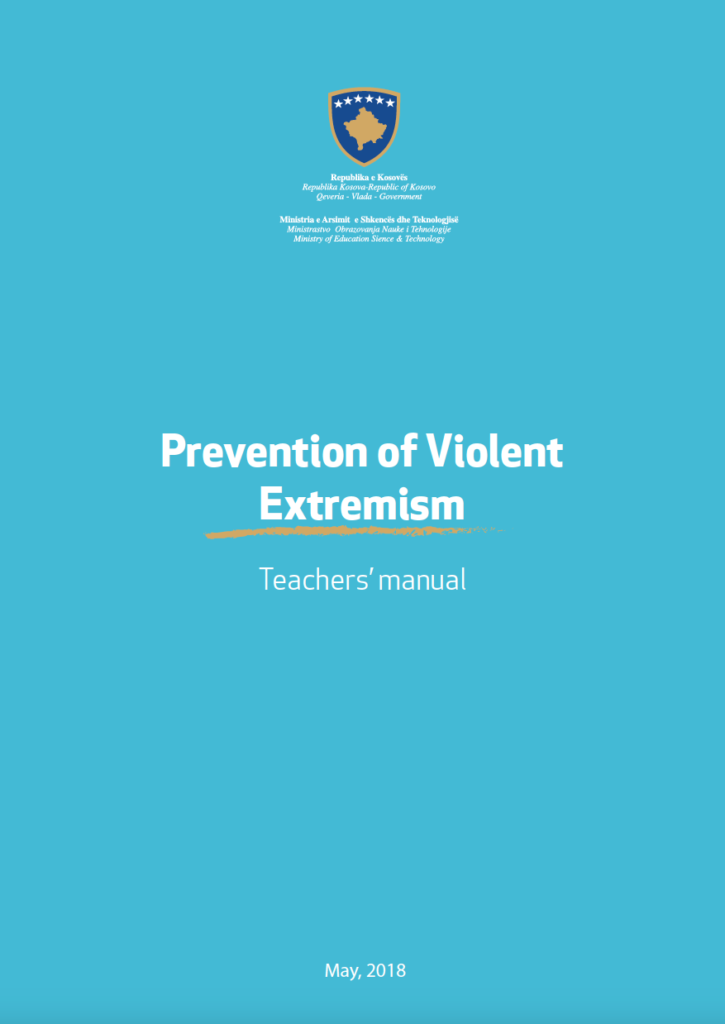 A Teacher's Manual on Preventing Violent Extremism (Kosovo)