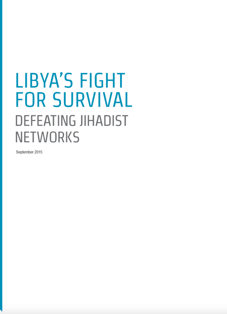 Libya's fight for survival – Defeating Jihadist networks