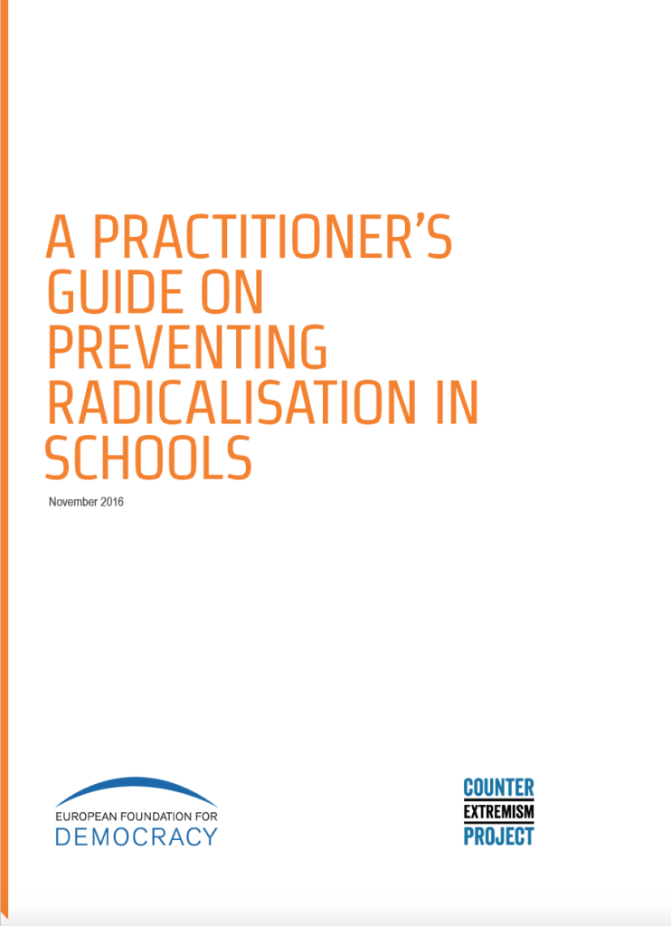 A Practitioner's Guide on Preventing Radicalisation in Schools