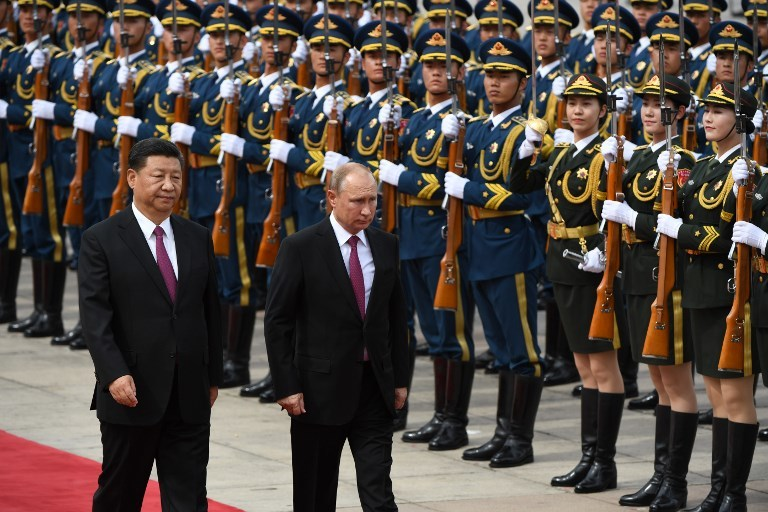 """""""Russia and China: different strategies, same goals?"""""""