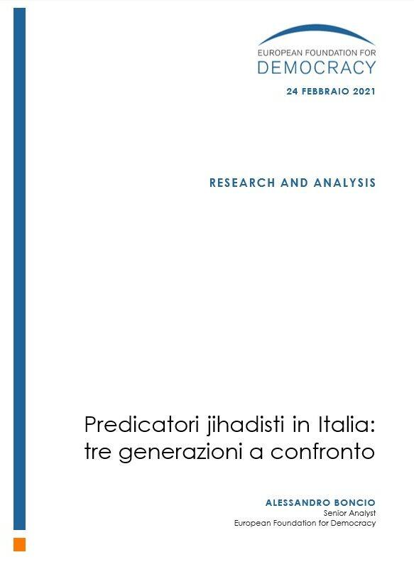 Jihadist preachers in Italy: three generations compared
