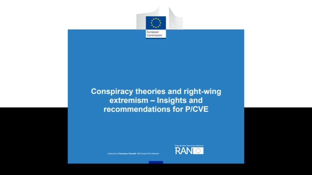 Conspiracy theories and right-wing extremism – Insights and recommendations for P/CVE